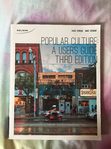 *TEXTBOOK* Popular Culture: A users Guide, 3rd ed. Windsor Region Ontario image 1