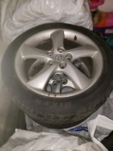 For sell 4 mazda mags with tires 215/50/r17