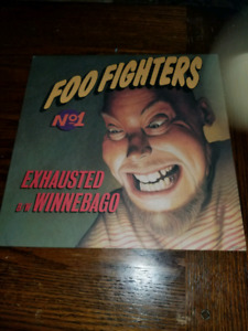 Foo Fighters vinyl rare promos