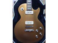 Gibson Les Paul studio goldtop tribute