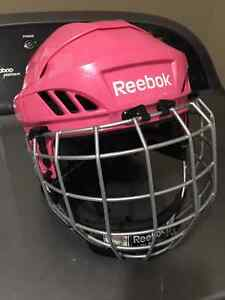 Reebok Pink Hockey Helmet Kingston Kingston Area image 1