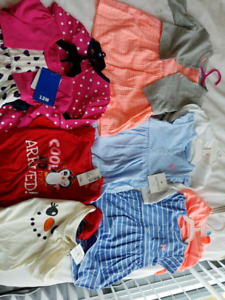 NEW 6-12 months Summer and winter outfits