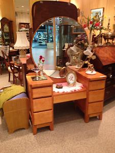 Furniture, Framed Art, Art Glass/ Glassware, Lamps & More...