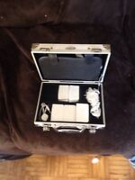 Nintendo ds with hard case