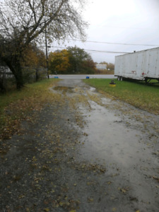 Prime location 1 acre lot with heated shop