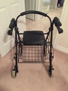 Walker and Bath chair in  excellent condition! Best offers!!