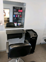 Hairstylist stations