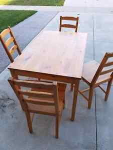 Rectangular Kitchen Table with Matching Chairs