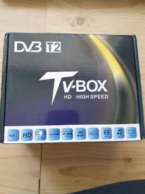 DVB tv box hd high speed