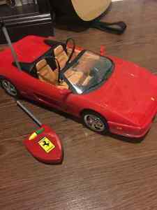 Remote control barbie car for sale