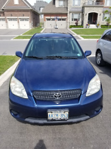 2005 Toyota Matrix XR  with Winter Tires