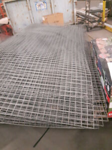 Steel Wire Mesh Panels 18 Gauge  120 in x 52 in - 2 Inch Square