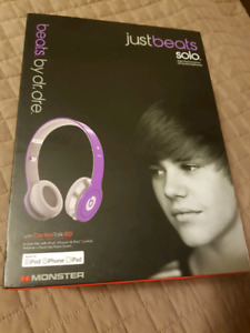 Beats by Dre™-Monster®-Justbeats™ Solo Justin Bieber Headphones
