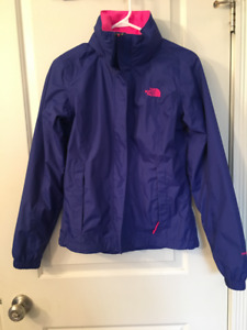 Women's North Face Rain Shell. Size XS. Like-new condition.