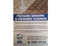 PRESSURE WASHING & DRIVEWAY CLEANING