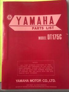 1976 Yamaha DT175 Parts List