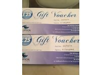 Vouchers for half the price