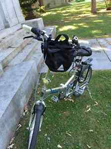 Norco Origami folding bike great condition!