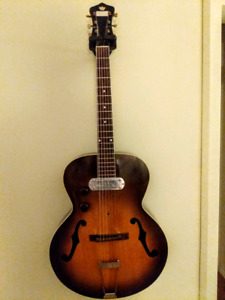 1930s Recording king archtop