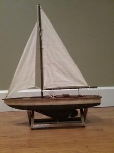 Wooden Model boat