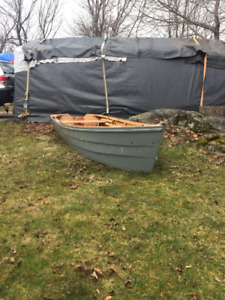 11ft hand crafted skiff