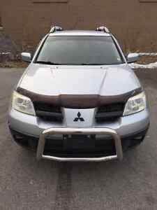 2006 Mitsubishi Outlander AWD, SPENT OVER $1600 FOR SAFETY