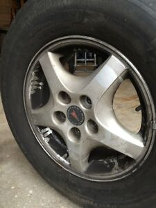 Michelin Harmony P215/70R15 (Qty 2) + 2 others all on Alloy Rims