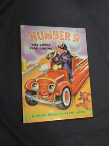 NUMBER 9 The Little Fire Engine (collectible book)