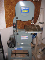 King Bandsaw with upgrades and blades
