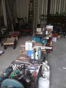 Shop Contents Tool Sale May 7th,  9 am - 1 pm