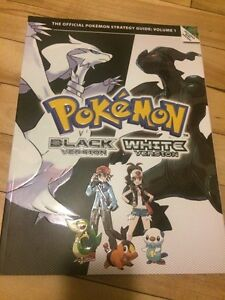 Pokemon black white guide BOOK livre neuf