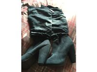 Brand new knee length boots size 7