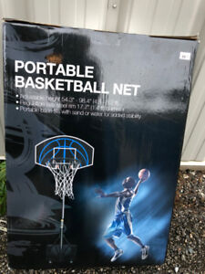 Portable Basketball Net    New in Box!
