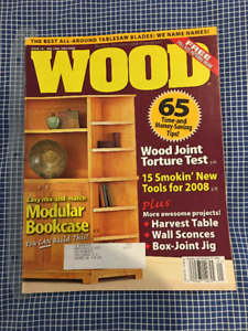 WOOD Magazine Collection 158 Issues