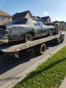 Scrap car removal And flat bed towing