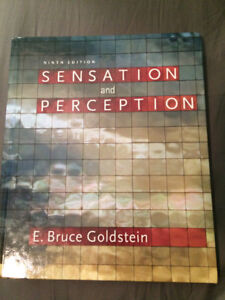 Sensation and Perception: 9th Edition- E. Bruce Goldstein