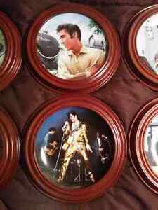 Elvis Presley - Looking At A Legend Collector Plates Kitchener / Waterloo Kitchener Area image 3