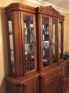 Mint Condition Dining Room China Cabinet
