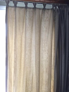 Curtains with Rod Iron  pole