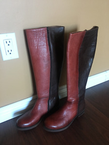 Fall / Spring Boots Size 8.5 (RED/BROWN)