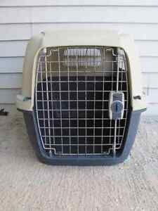 Animal crate 29 inches long x 19 x16 inches wide $22