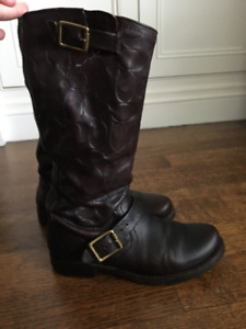 Frye For Coach Veronica Woman's Boot brown