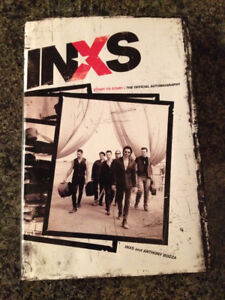 Neil Young and INXS Bio books