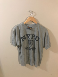 Grey Official Physical Training NYPD New York City Police Dept T
