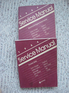 1984 Chrysler manuals