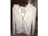Women's Fat Face Cream Hoodie - Size 8