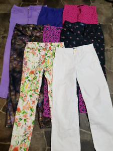 Girls jegging size 10-14 Justice, polo and more