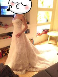 Robe de mariée 6 ans très propre (lavée)