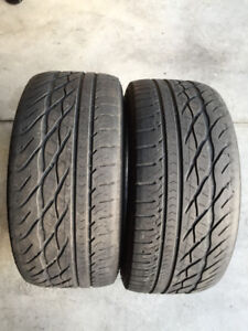 2 Goodyear Eagle GT - 245/40/18 - 60% - $40 For BOTH