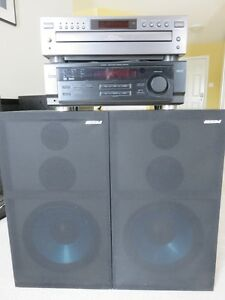 Stereo System with Speakers